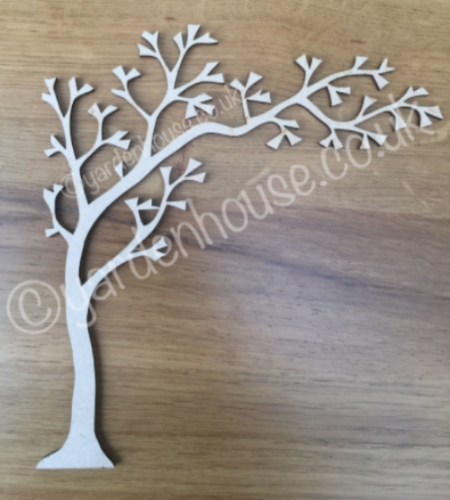 x3 Half Trees (for frames) 18.5cm x 20cm (3mm MDF)